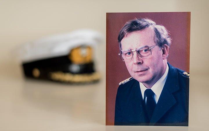Geschichte der Seebestattung Kapitän Horst Hahn